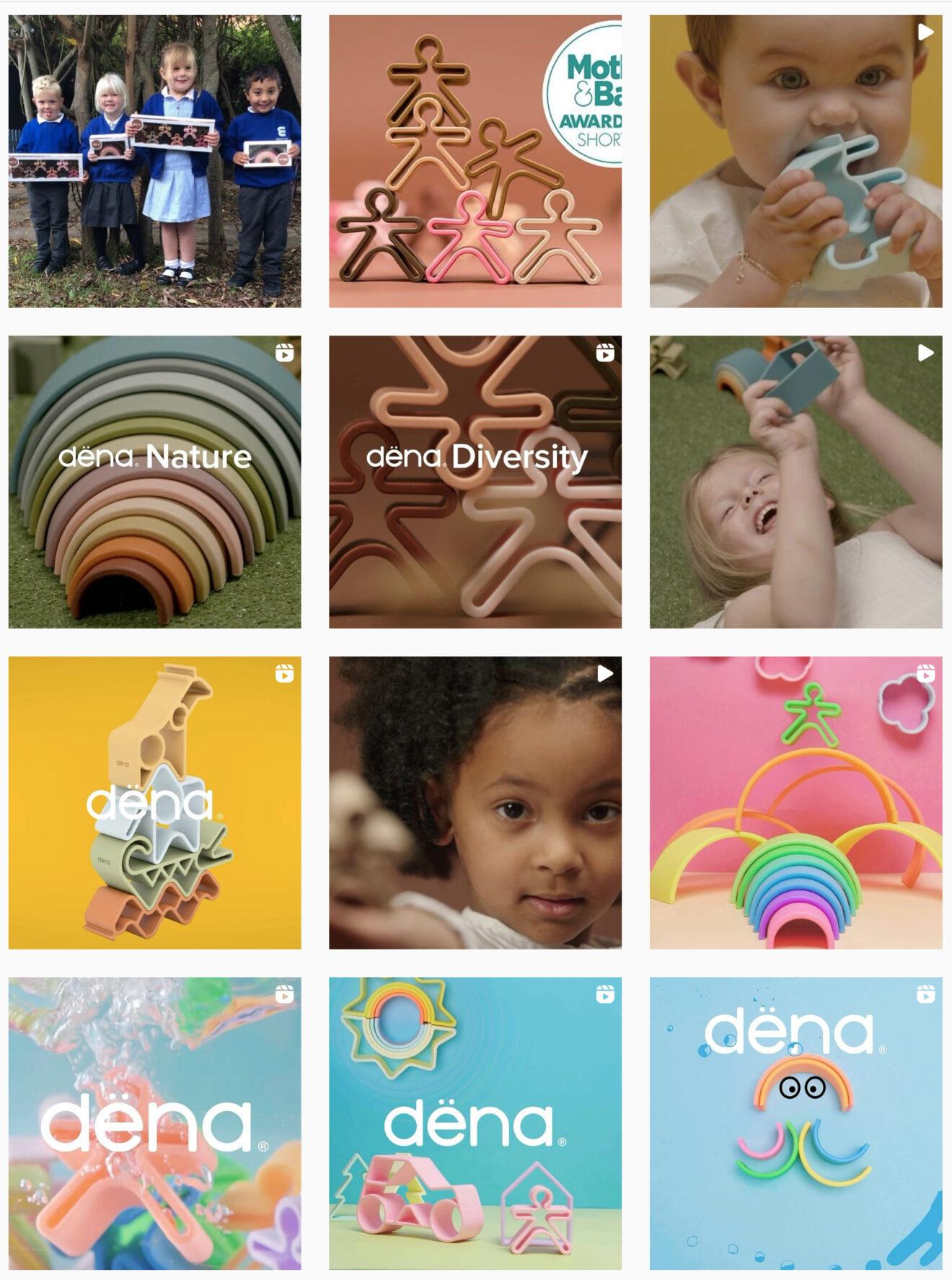 La marque Dena toys distribuée en France par Frozzy Europe